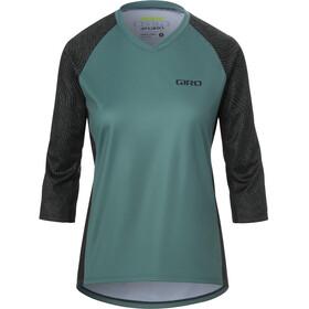 Giro Roust 3/4 Jersey Women, verde/negro